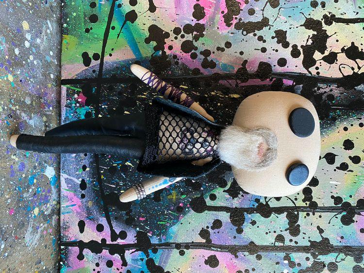 Rob Halford Inspired Art Doll - art - cherfru   ello