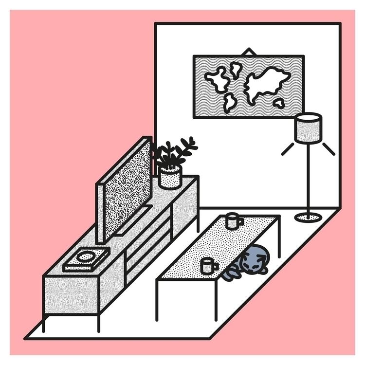 room play Fifa - illustration, cat - rickygough | ello