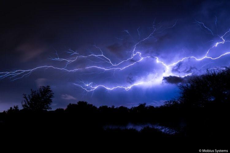 Morning storms - lightning, lightningbolt - dagomtz | ello