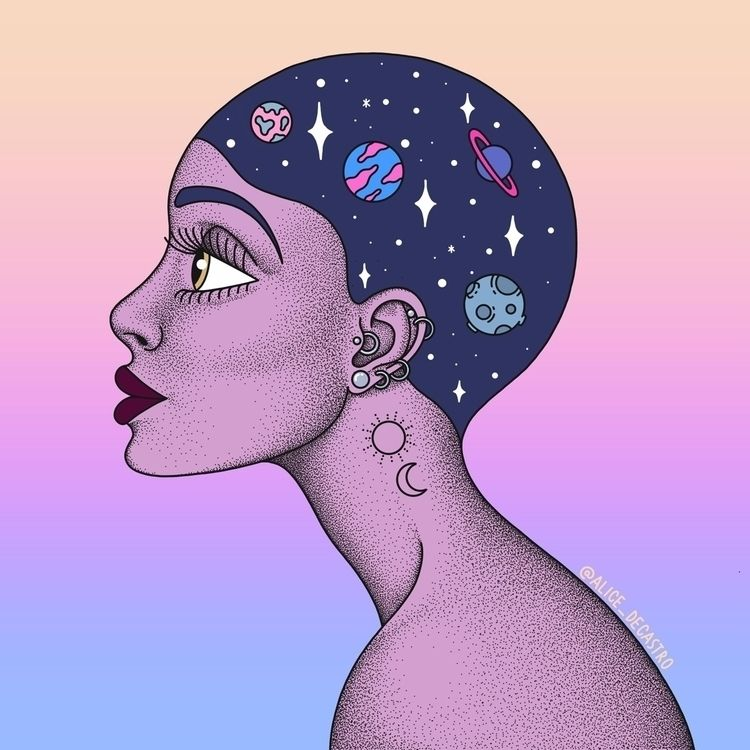 illustration, art, drawing, ilustração - alice_decastro | ello