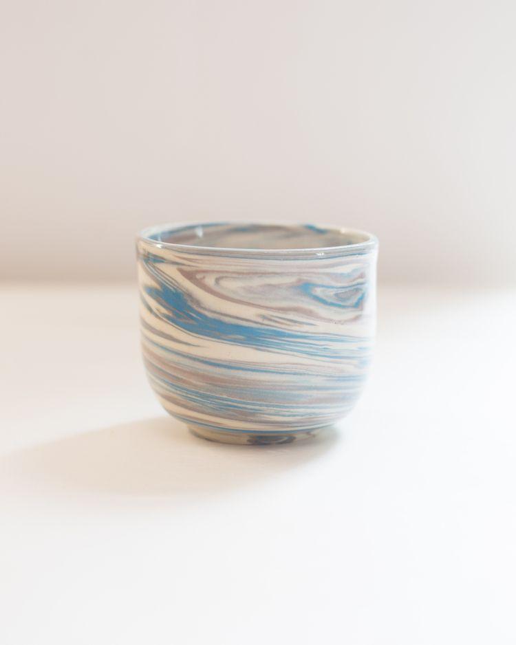 Marbled ceramic tumbler - irynagarkusha | ello