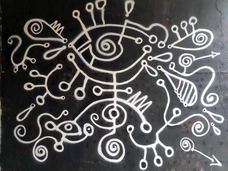 Street art - gruba kreska. Lubl - matyjaszewski | ello