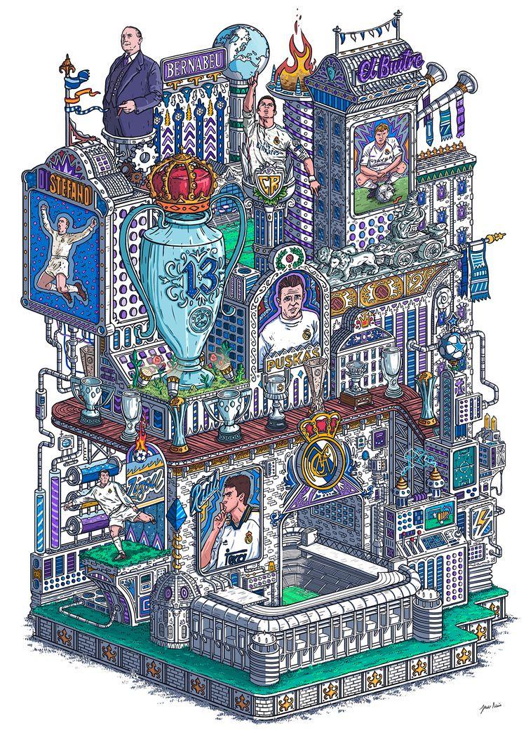 MADRID LEGENDS illustration cov - javierarres | ello