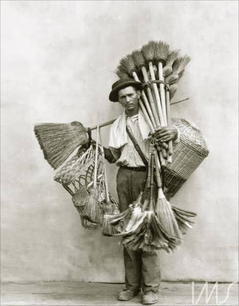 Broom salesman, 1919 - arthurboehm   ello