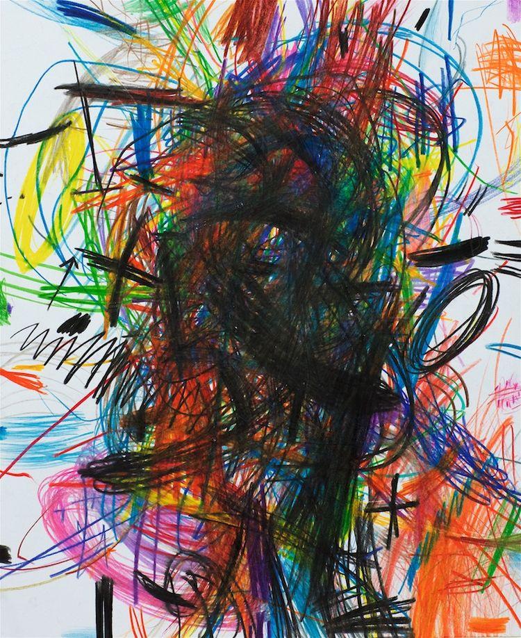 Pack Man! (Coloured Pencil draw - dirkmarwig | ello