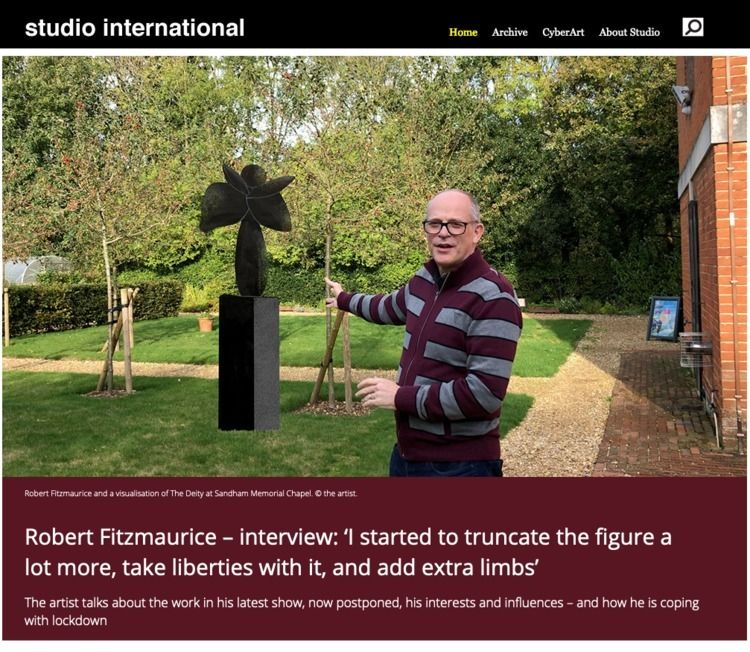 Robert Fitzmaurice – interview - studiointernational | ello