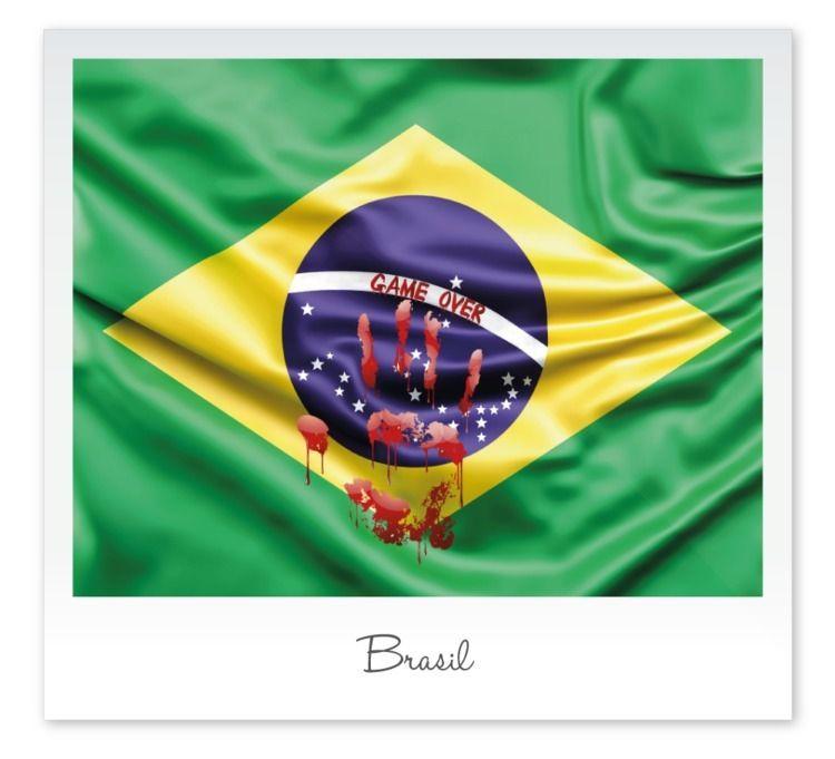 Brasil 2020 Digital Art - GameOver - rogeriobento | ello