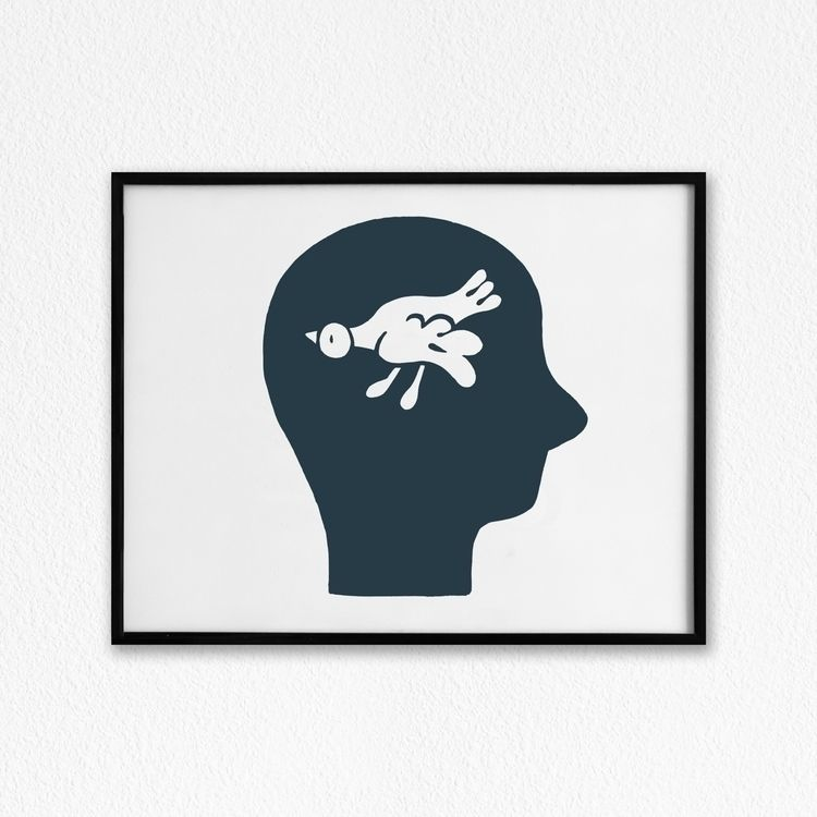 Numb 11x14 Acrylic Paper - art, johnnydraco - johnnydraco | ello