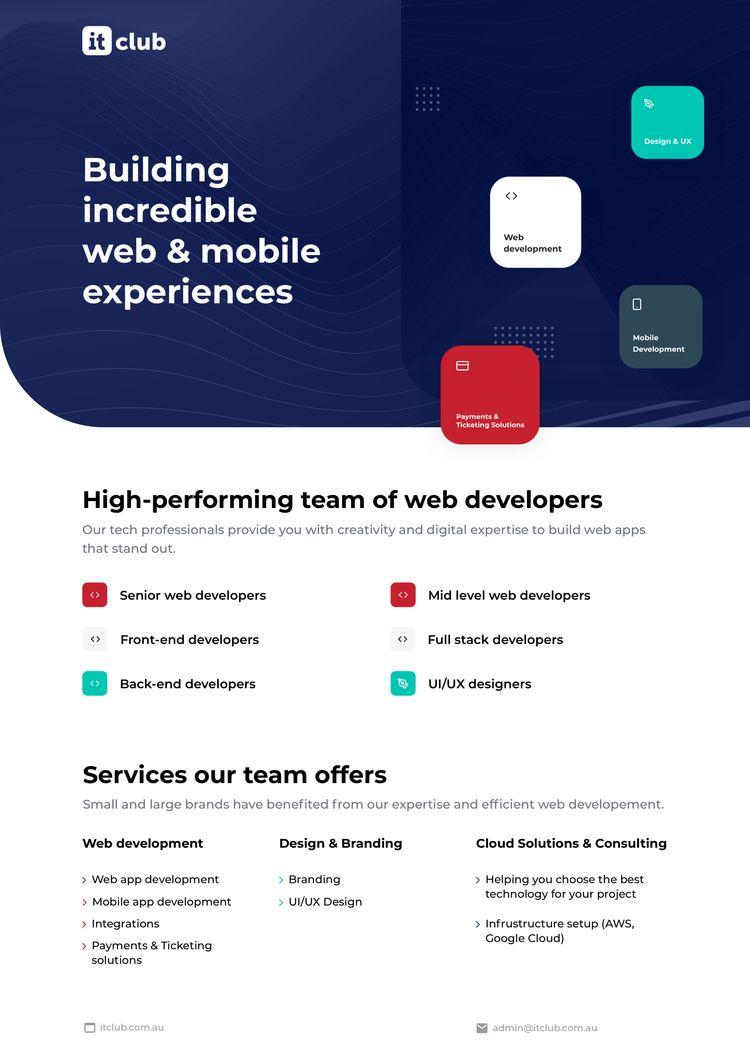team develops incredible web mo - elenaitclub | ello