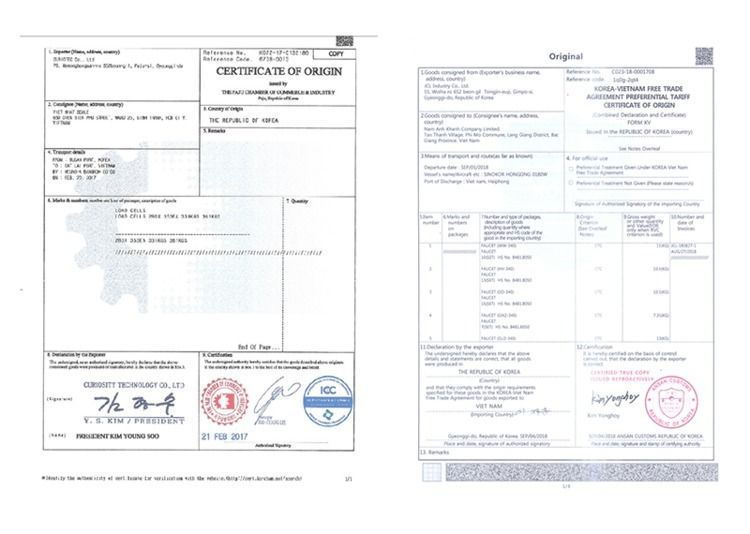 Dịch thuật công chứng CO, CQ vụ - dichthuatphuongdong | ello