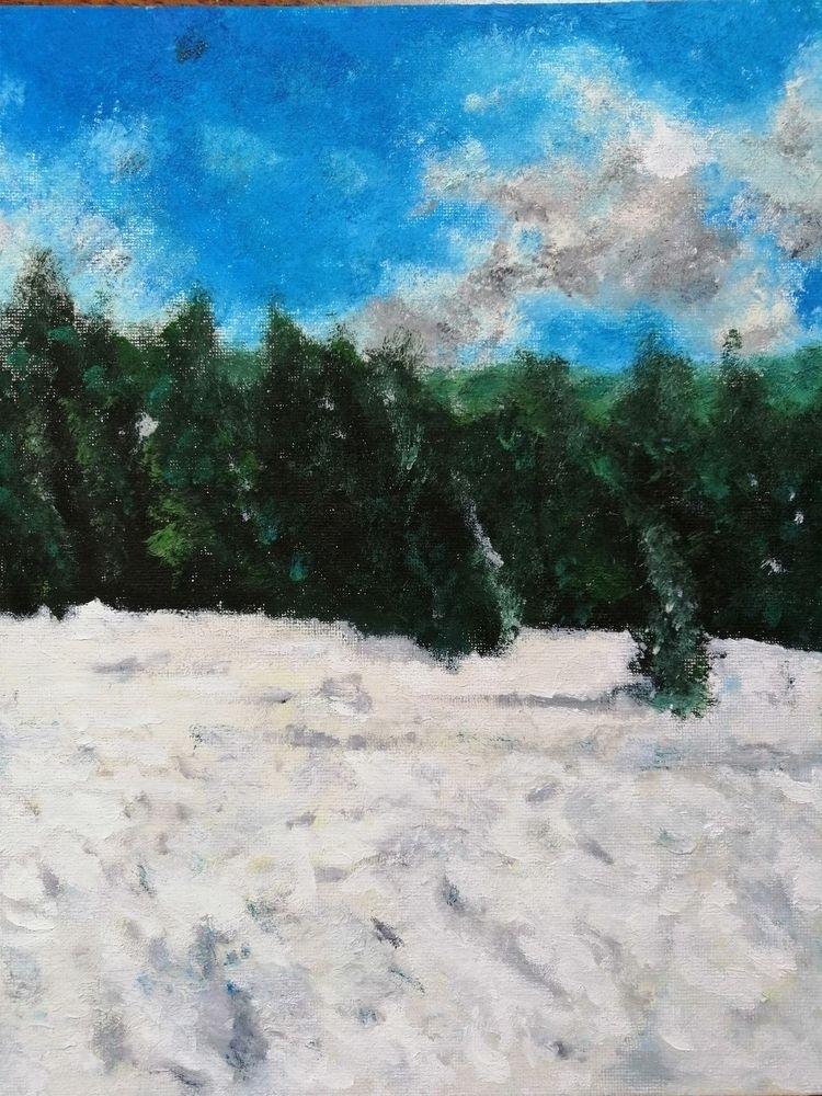 True Winter Mountains - kubast | ello