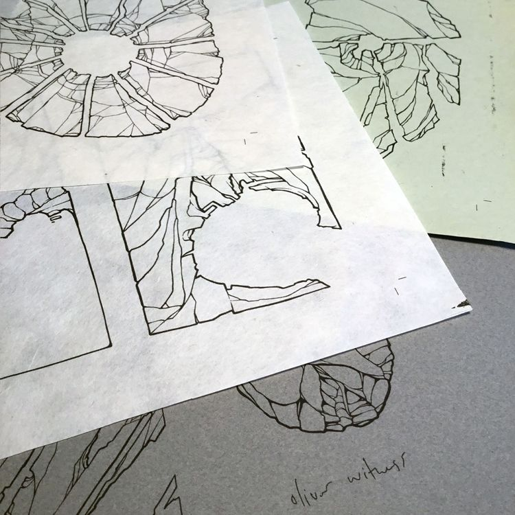 routinely print sketches draw u - oliver-witness | ello