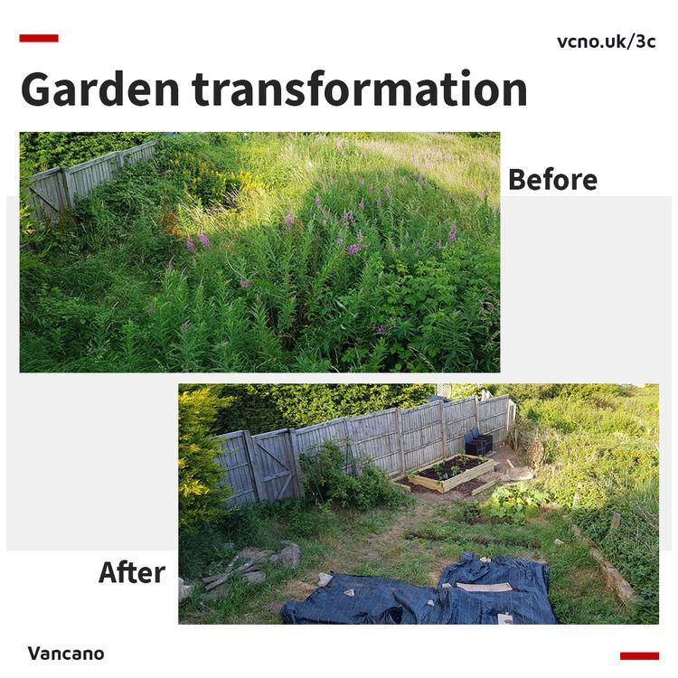 garden transformation evenings  - vancano | ello