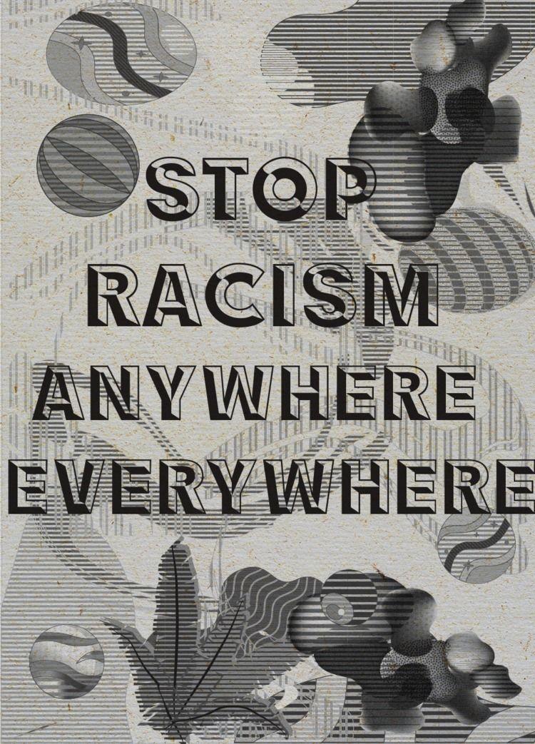 Stop Racism blacklivesmatter - ellodesign - nancykouta | ello