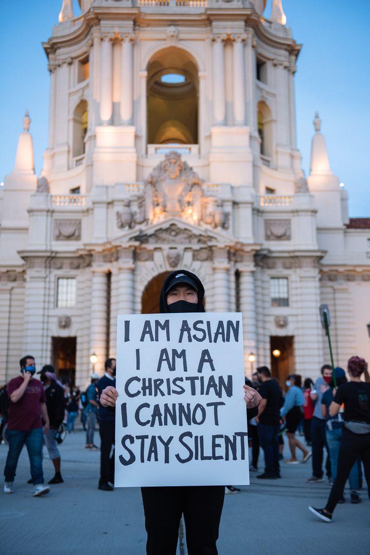 George Floyd Vigil Pasadena Cit - rollence | ello