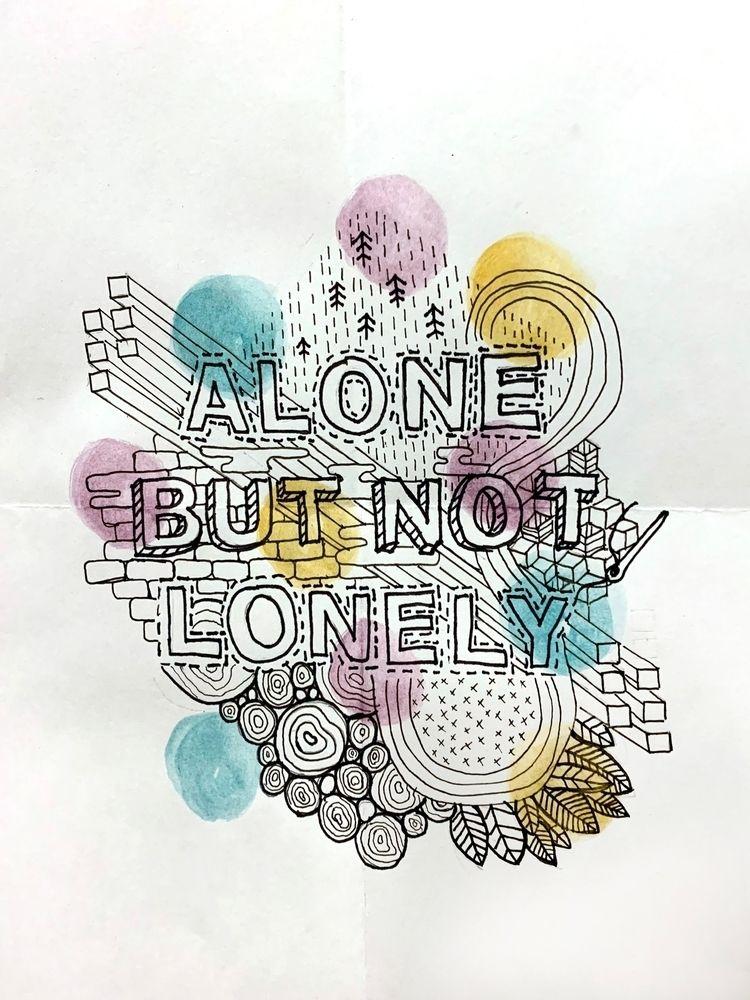 cope. Ink watercolor. Laura Aus - lauraaustin | ello