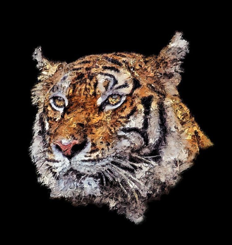 Tiger Ink - digitalalchemist, ricardomiguelferreira - ferreiraricardo | ello