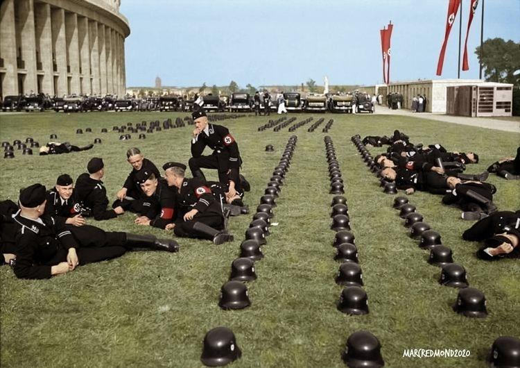 Colourising History - German SS - marcredmond | ello