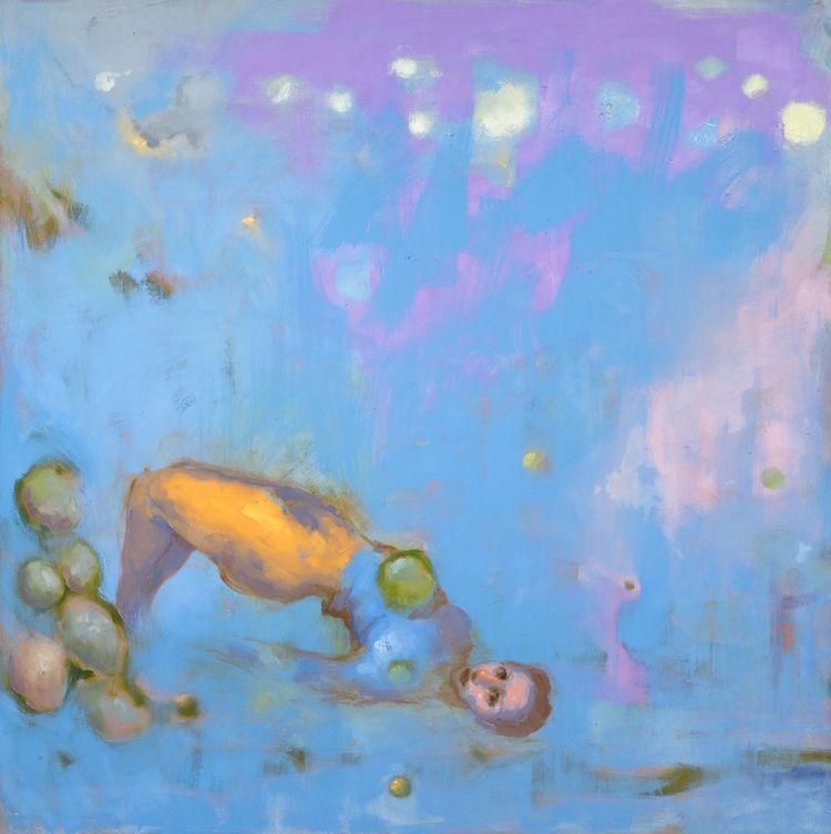 Gravity - paintings series obvi - aldocherres | ello