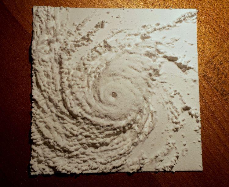 3D Print Hurricane - riflecreekstudio | ello