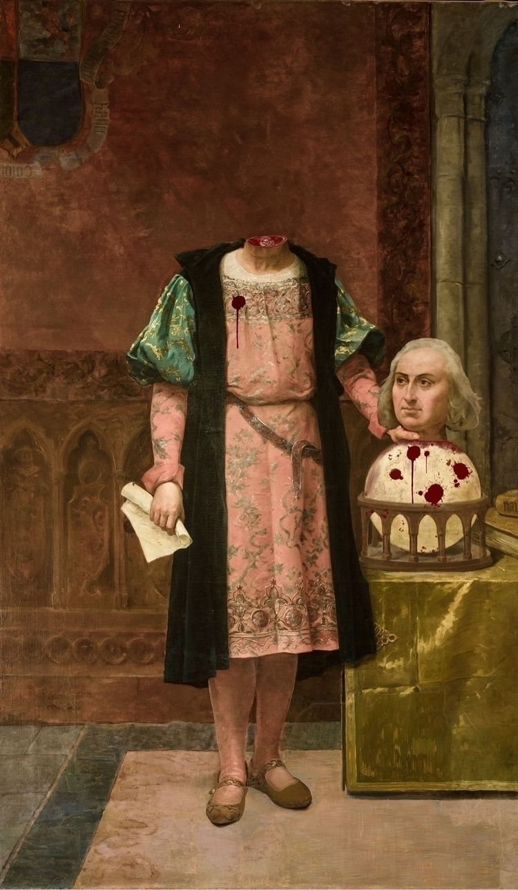 Retrato Colón-biano Hace unos d - ziggyk | ello