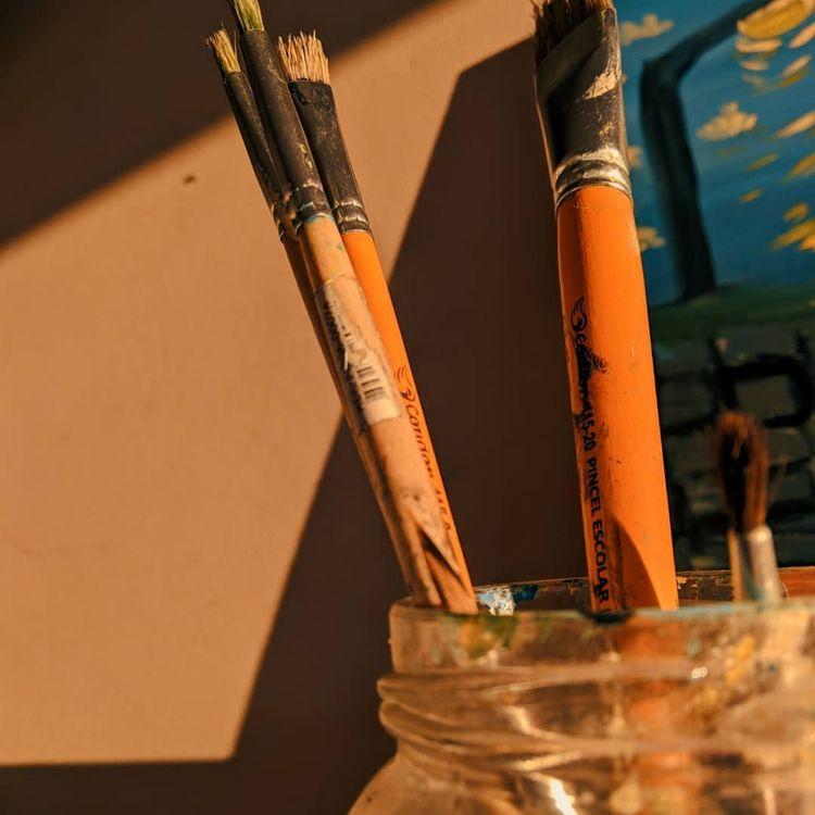 art, aesthetic, paint, yellow - xxyhope | ello