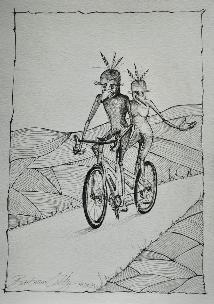 Bird People Tandem, Commission - blibbysteinmann | ello