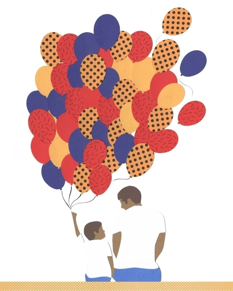 Happy Day / feliz día del padre - martinillustrates   ello