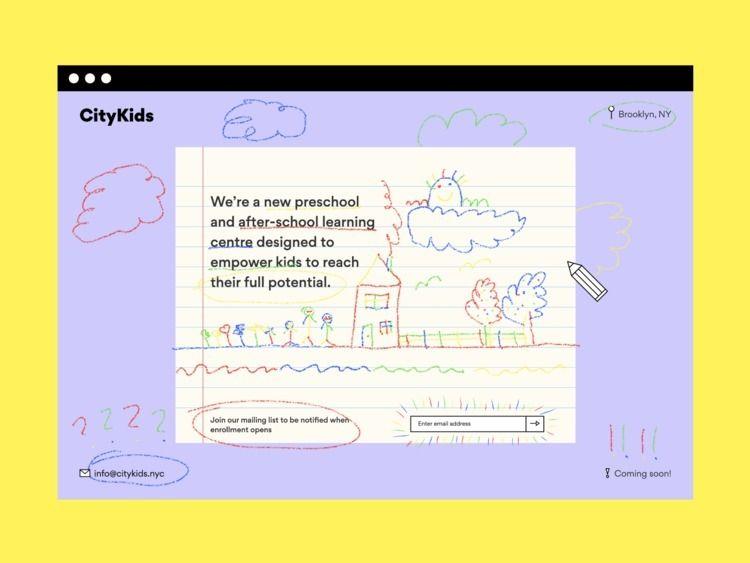 Mini-Drawing App Holding Page E - hiddenenigma | ello