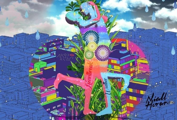 Digital painting Artwork Heartb - quodscripsiart | ello