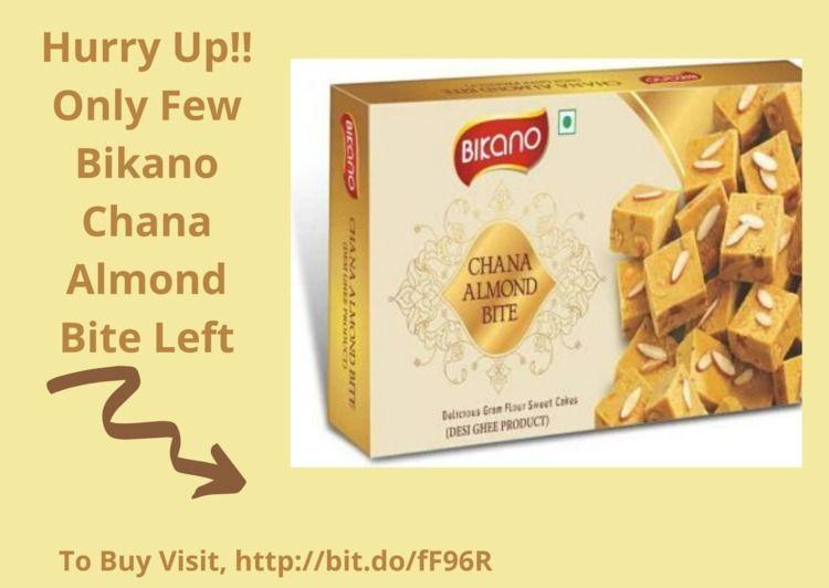 Order fast Bikano Chana Almond  - keshavrai535 | ello
