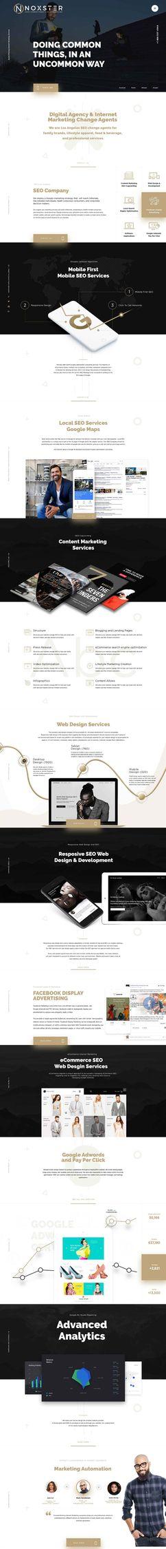 Noxster Web Development Divi wo - ainal_me | ello