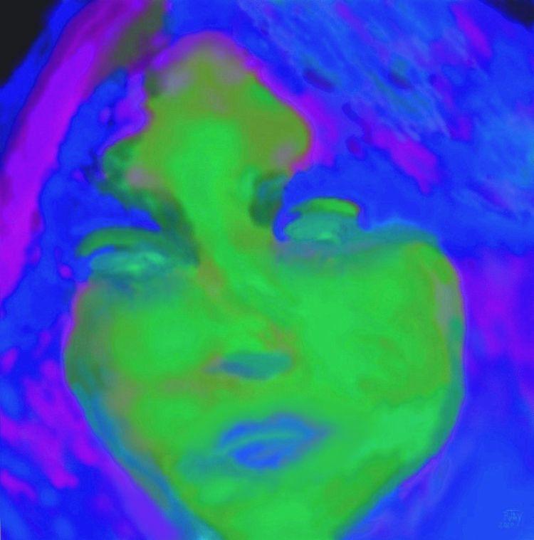 Sylvia Crying 43 - Digital Spra - rjayslais   ello