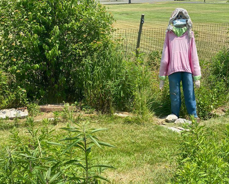 Mistress Scarecrow finds scare  - starbgoddess | ello