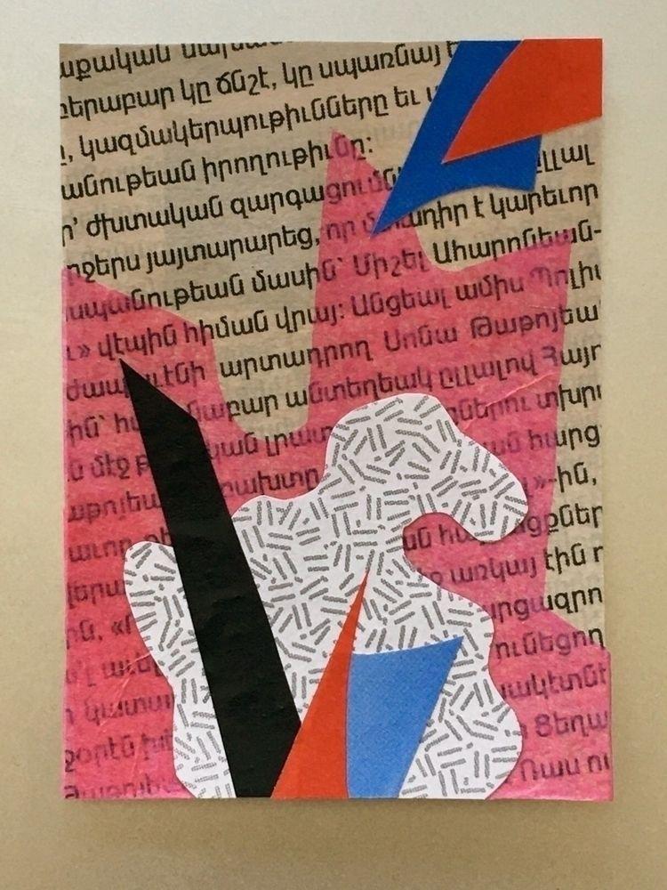 8 Elements paper collage - arti - tim_ereneta | ello