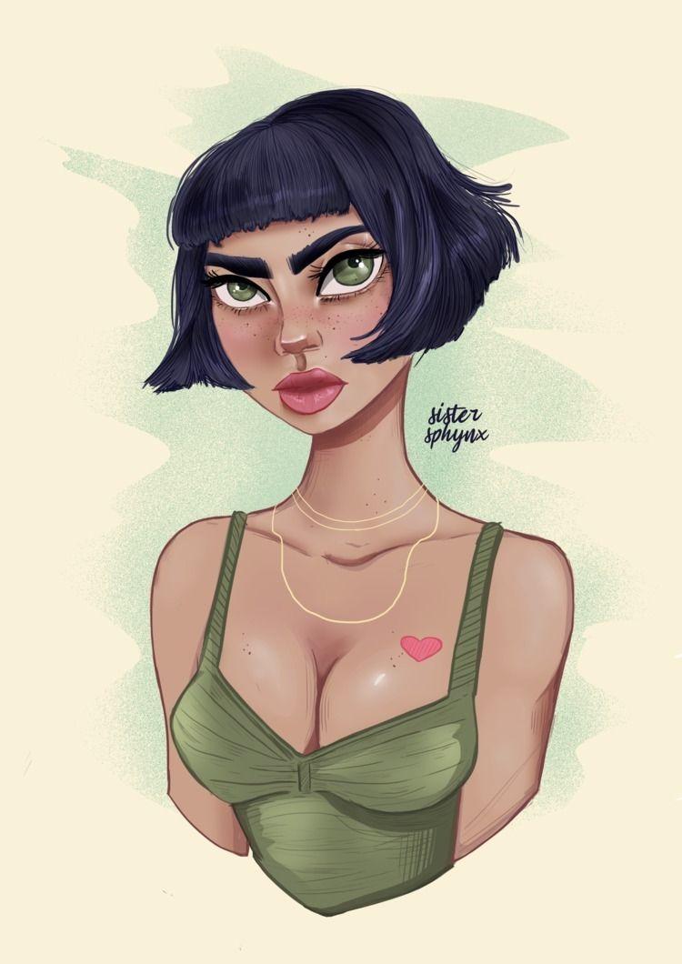 Green eyed girl - sister_sphynx | ello