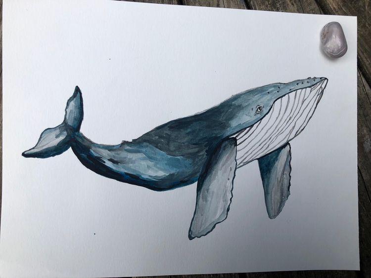 watercolor, painting - neeseem | ello