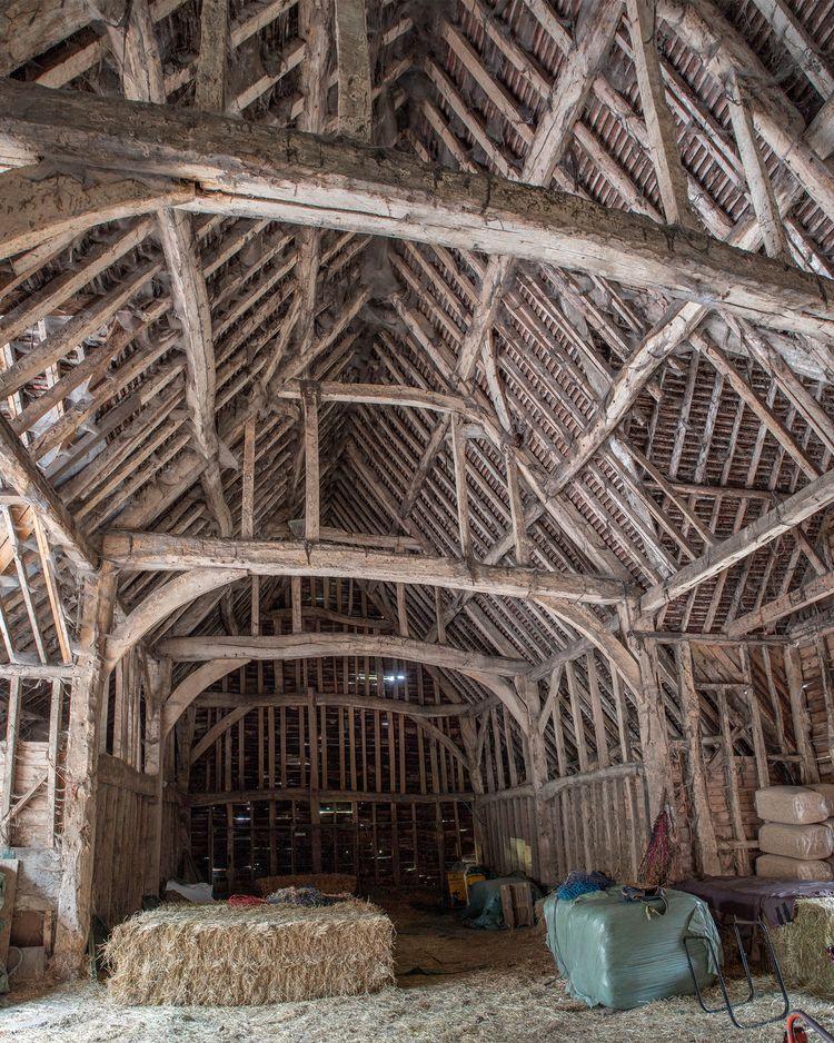 stunning barn time ambient ligh - forgottenheritage | ello