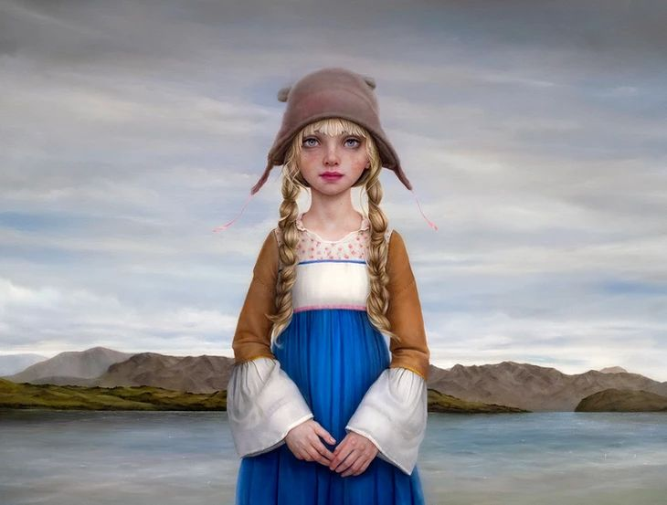 Amazing paintings Dunedin based - nettculture | ello