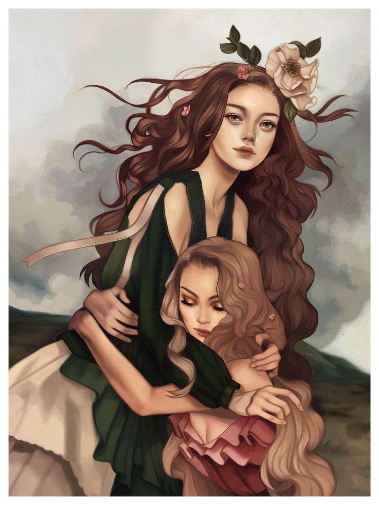 'Magnolia Goddess' Kelsey Becke - geekynerfherder | ello