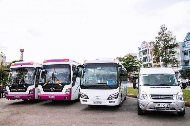 Thuê xe Đà Nẵng đi Sân bay Phú  - xedulich | ello