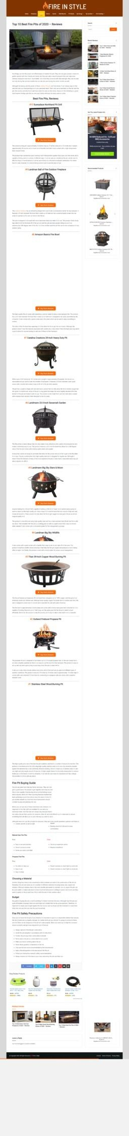 Fire Pits FireInStyle.com place - fireinstyle   ello