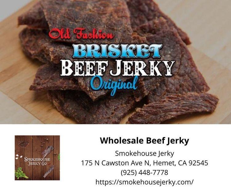 Top Wholesale Beef Jerky point  - smokehousejerky | ello