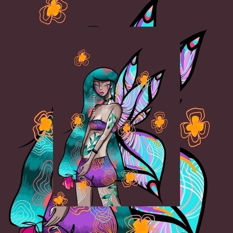 flutterby 🦋:purple_heart: | pla - thelunasky | ello