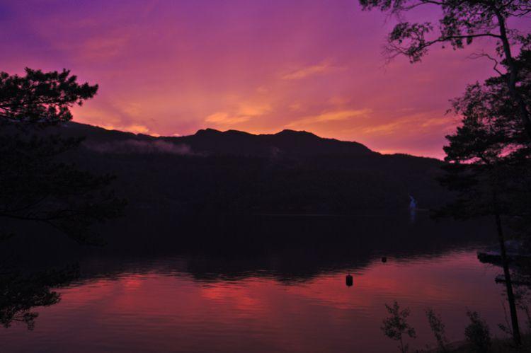 Colourfull evening - espengya | ello