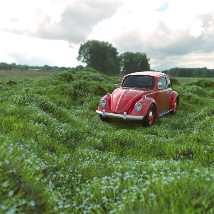 decided model Cinema 4d VW Beet - ricardomagalhaesfs | ello