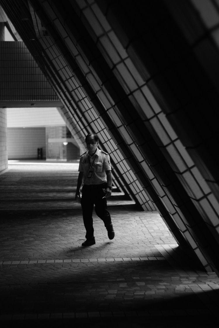 2020/7 - monochrome, blackandwhite - lacuna_josh | ello