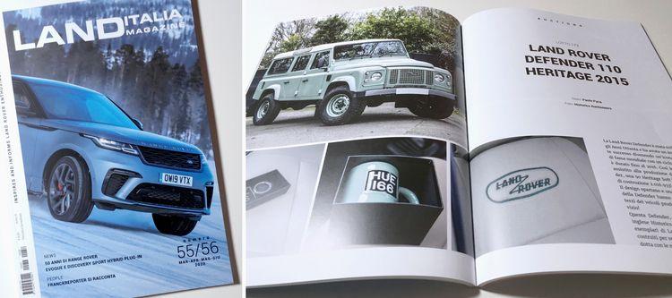 Land Italia Magazine 55/56 - graphicdesign - eleonorabook | ello