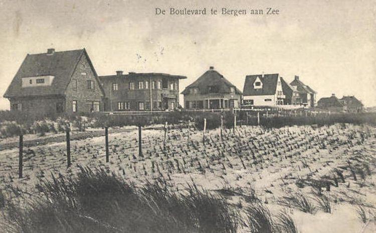 Bergen aan Zee Netherlands post - andrezomerwandeling   ello