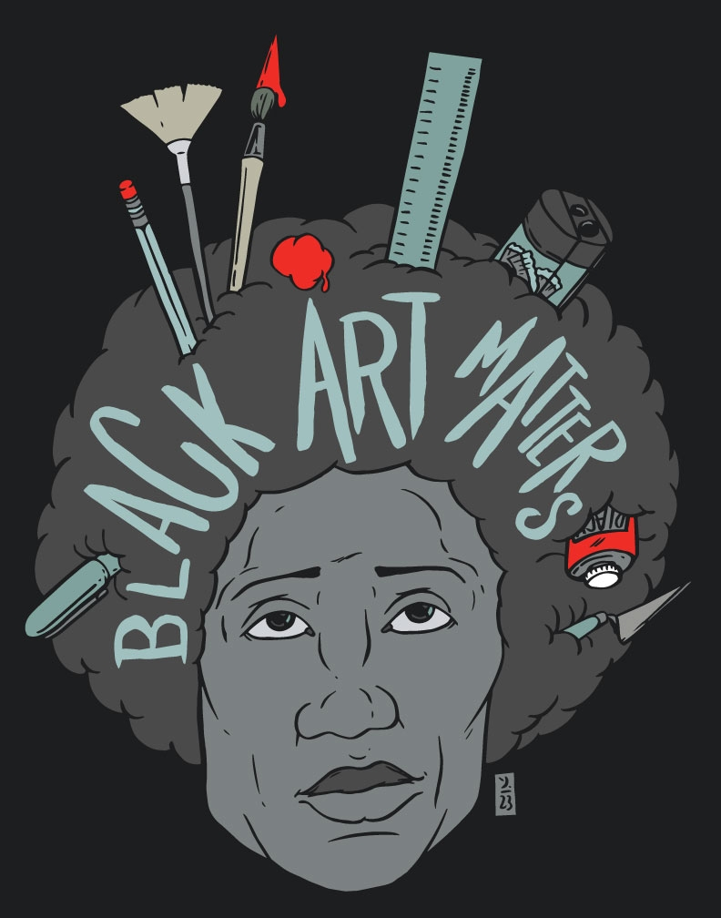 Black Art Matters merch availab - thomcat23 | ello